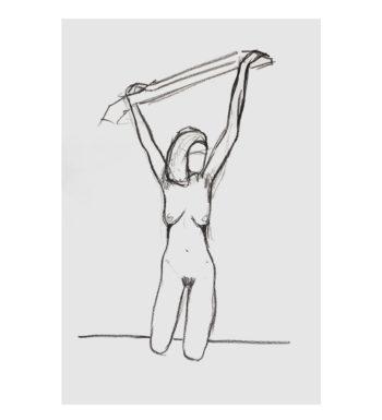 Dibujo A Carboncillo «Desnudo»