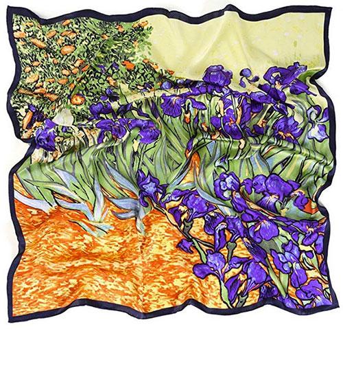 Pañuelo Van Gogh 100% seda