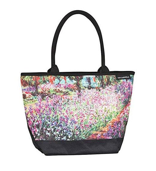 """Bolso de compras motivo """"El Jardín"""" de Claude Monet"""