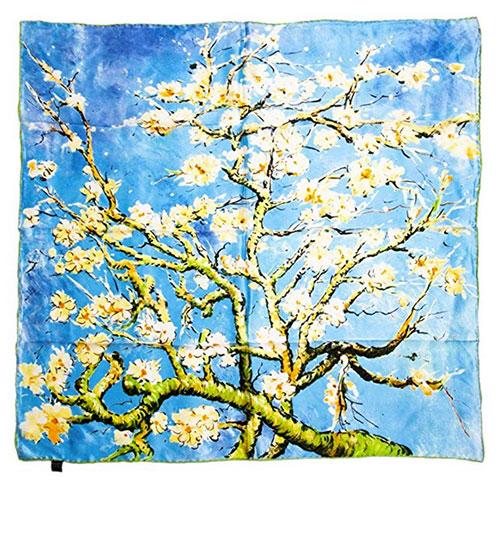 Pañuelo de Van Gogh almendro en flor