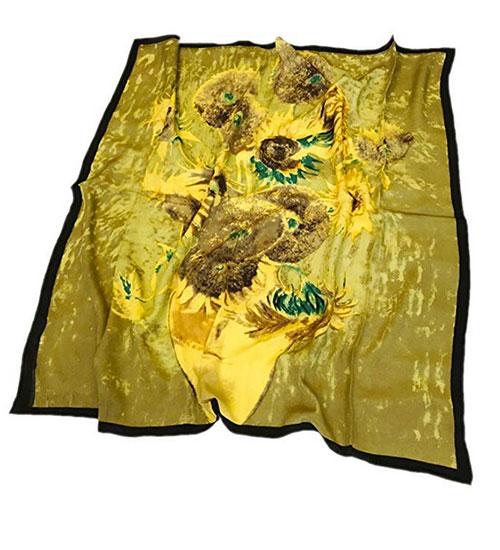 Pañuelo de Van Gogh Los Girasoles