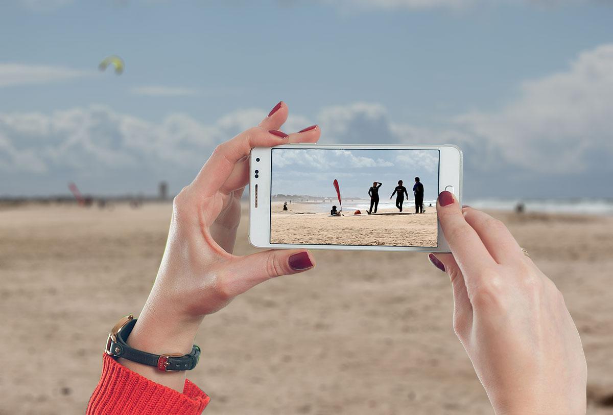 Realizar fotografias con el móvil