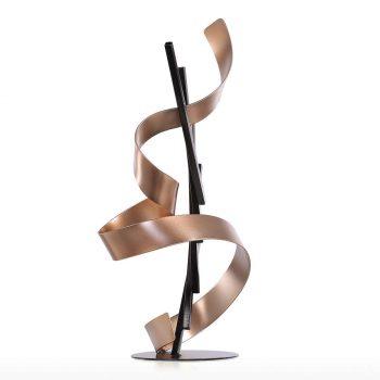 Escultura Abstracta De Hierro