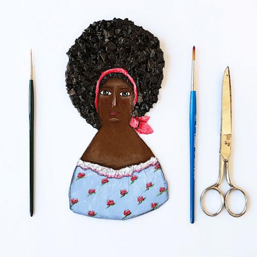 Curso de muñecas planas de papel y cartapesta