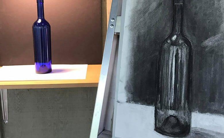Cómo Representar El Volumen Y Las Sombras De Los Objetos Con El Carboncillo.