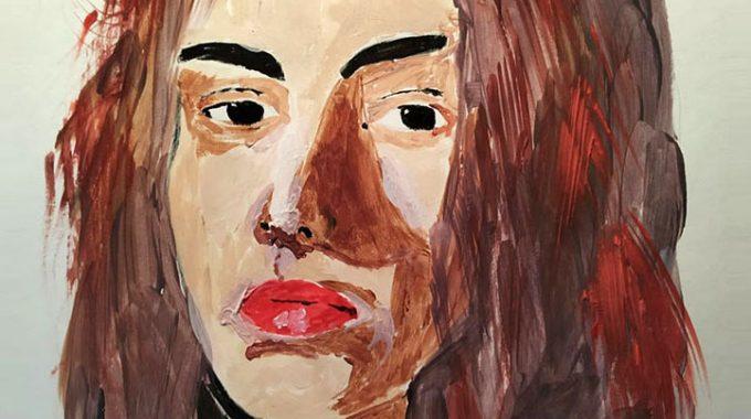 Retratos De Mujeres En Acrílico