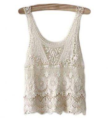 Top De Crochet Blanco