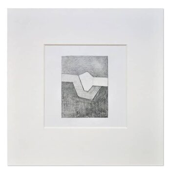Dibujo Geométrico A Lápiz Sobre Cartulina «Unión»