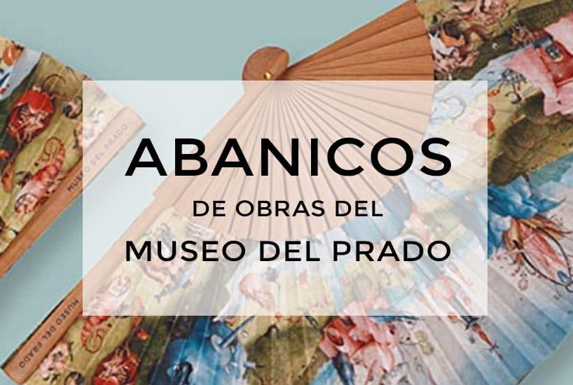 Abanicos de obras del Museo del Prado