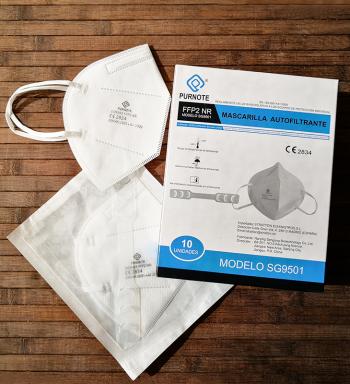 Mascarillas FFP2 Homologadas CE 2834 Certificadas