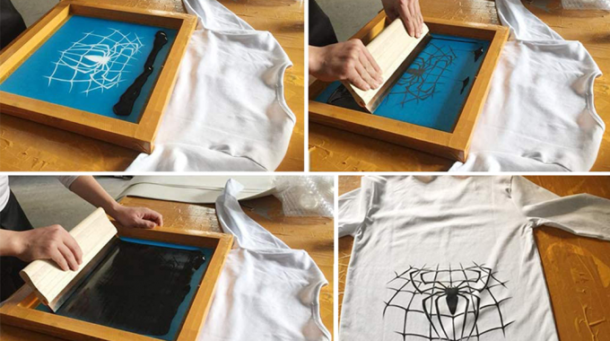 Kit Completo Para Hacer Serigrafía Textil