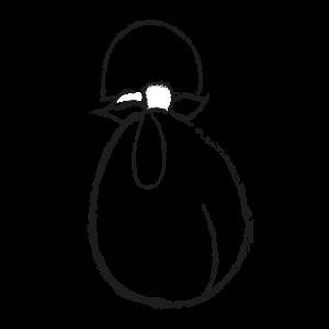 Bolso furoshiki con asas
